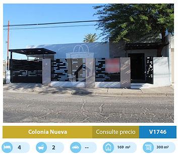 casa en venta en colonia nueva de mexica
