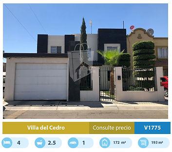 casa en venta en villa del cedro mexical