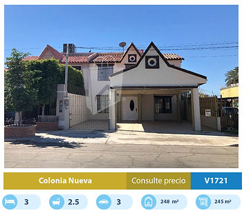 casa en venta en colonia nueva mexicali.