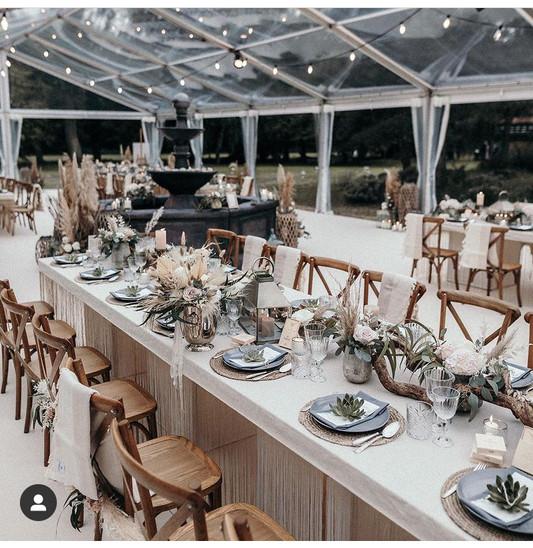 Hochzeitszelt rustikal