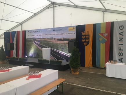 Bühnen und Backdrops