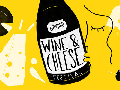 Eatyard's Cheese and Wine Festival kicks off today