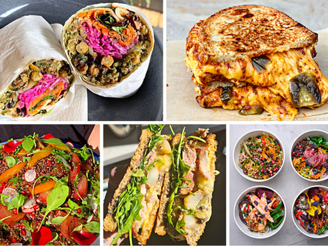Back To The Office Lunches For Less Than A Tenner