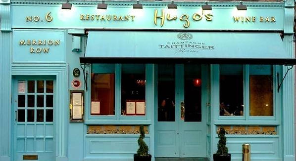 Hugo's restaurant merrion row