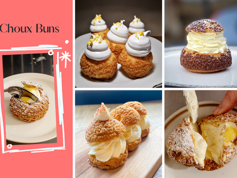 Choux Buns... Are Having A Moment