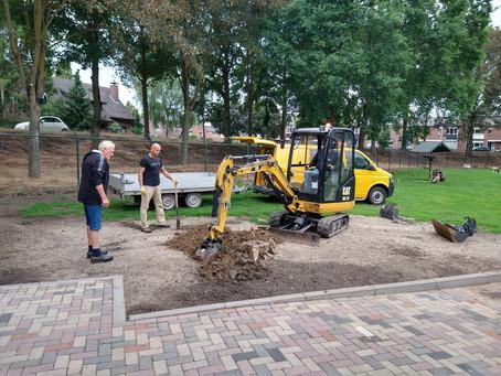 Hulp bij verwijderen boomstronken