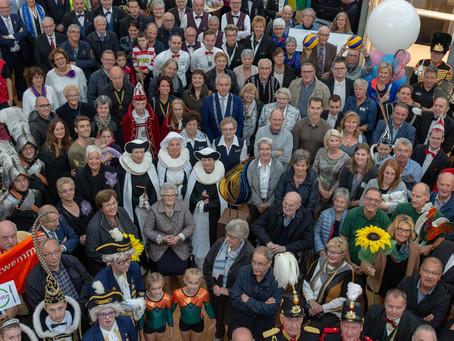 Stichting Breerdeerkes aanwezig bij opening Gemeentehuis Maasgouw