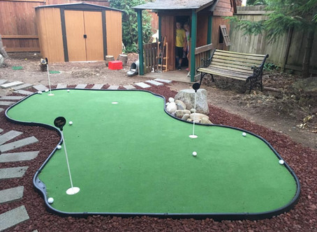 How A Home Putting Green Is Going To Help Me Break 80