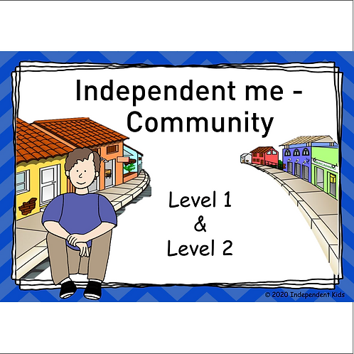 Independent Me - Community 1 and 2 (male)
