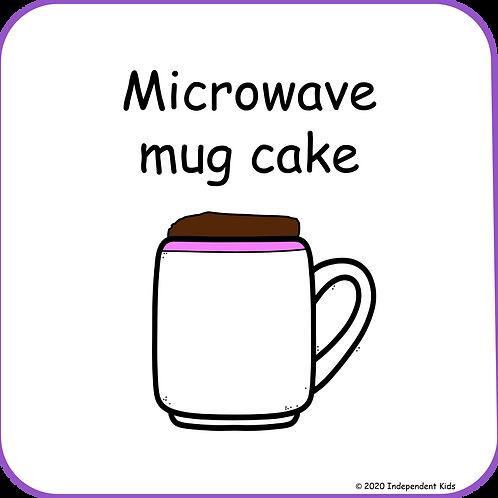 Microwave Mug Cake Recipe Book