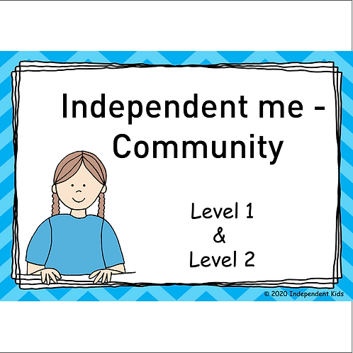 Independent Me - Community 1 and 2 (female)