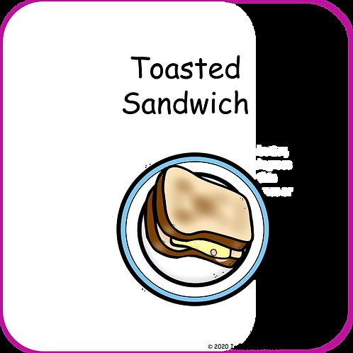 Toasted Sandwich Recipe Book