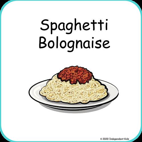 Spaghetti Bolognaise Recipe Book