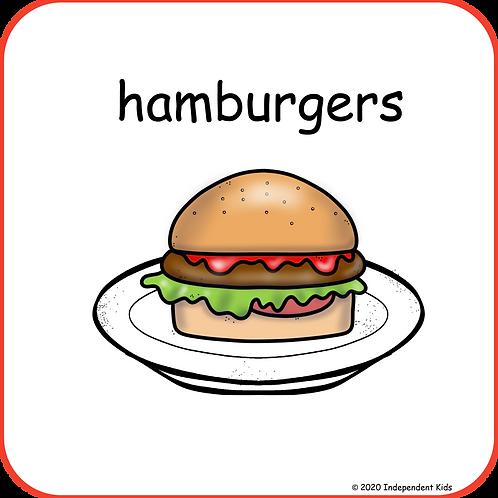 Hamburgers Recipe Book