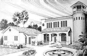 Residential Spanish Theme Design 1 (Pen