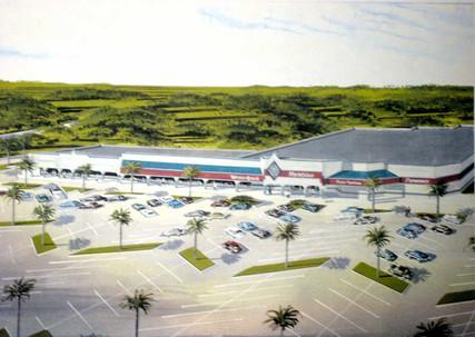 Casein (Aerial:Shopping Center) Florida