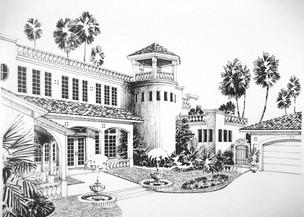 Residential Spanish Theme Design 2 (Pen