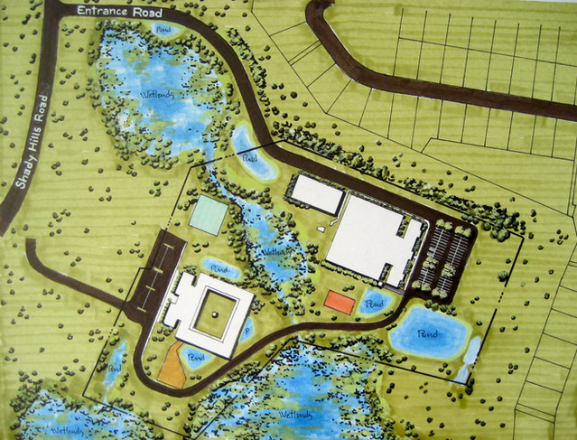 Site Plan Commercial (Marker With Casein