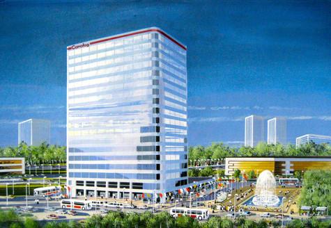 Casein (Aerial) Hi-Rise Complex Boston 2