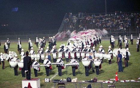 1978 Regiment Drumline (w color guard x-