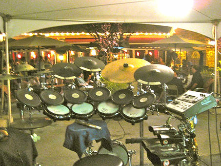 Cafe Notte Drums From Behind w Lights 42
