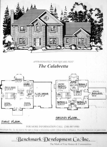 Residential Pen & Ink (Elevation:Floor P