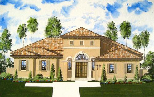 Residential Spanish Theme Design (Casein