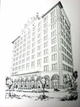 Historic Preservation (Pen & Ink) Downto