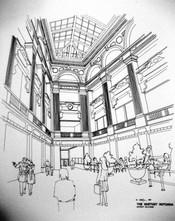 Pen & Ink (Hist Preservation) Whitney Ro