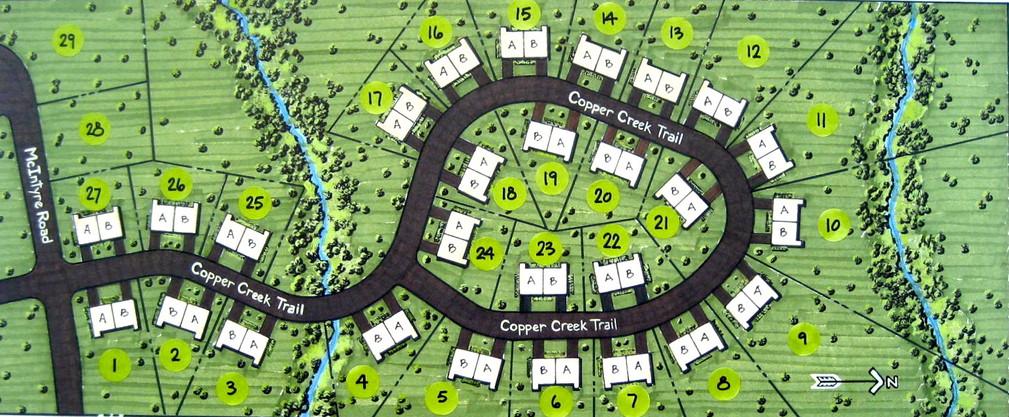 Site Plan Subdivision (Marker With Casei