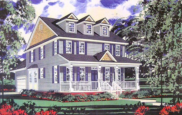 Residential (Casein) 01 Wood w:Porch & R