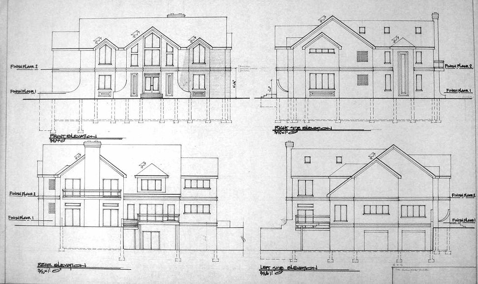 5000 Front Rear Right Left Elevations []