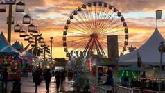 Ferriswheel & Gondolas Silouette w Yello