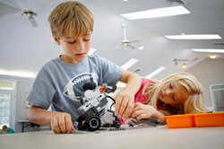 Design and build models and robots