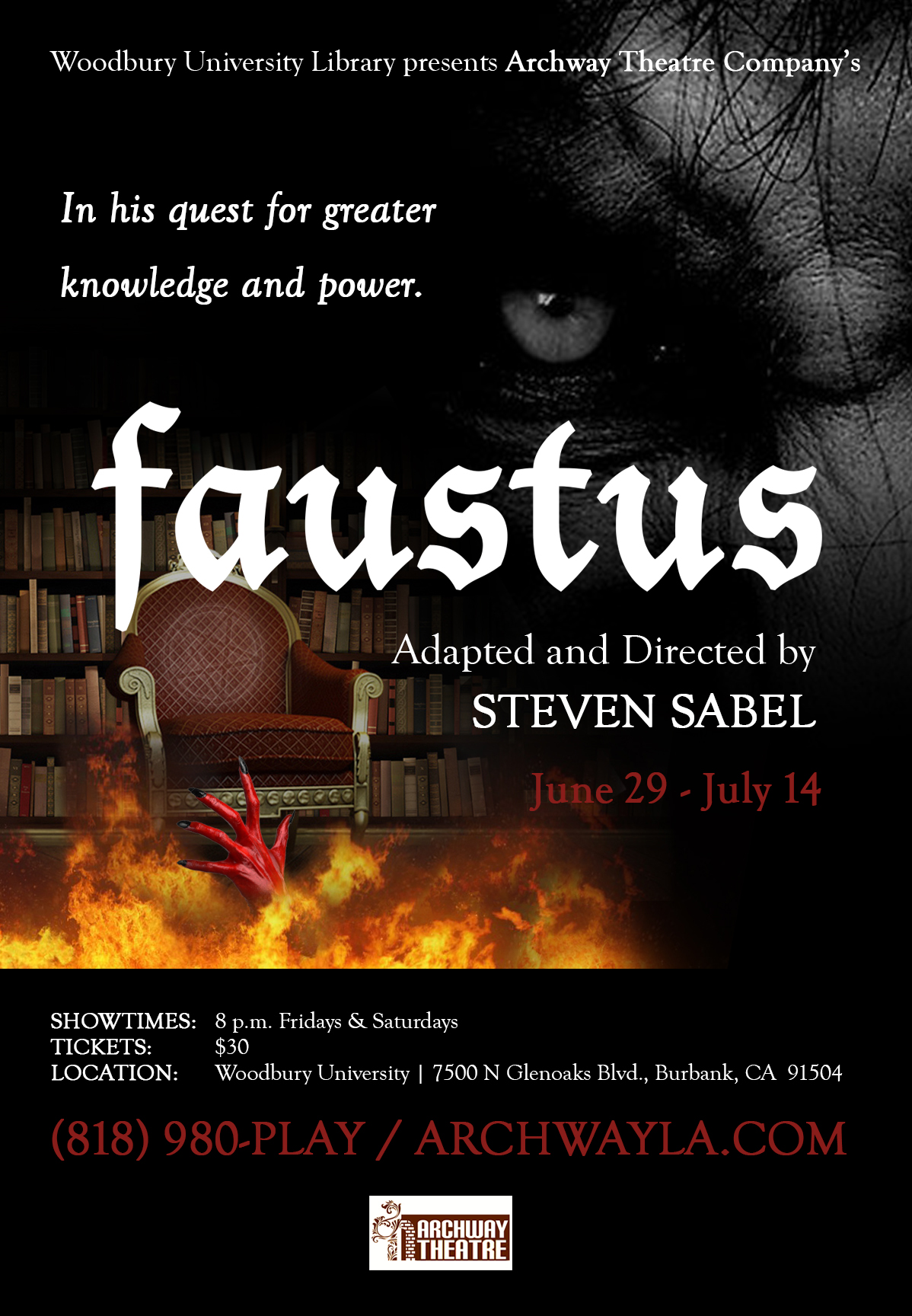 Faustus June 29 - July 14