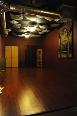 Our Warm and Spacious Studio: