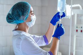Inyecciones y vias de enfermera