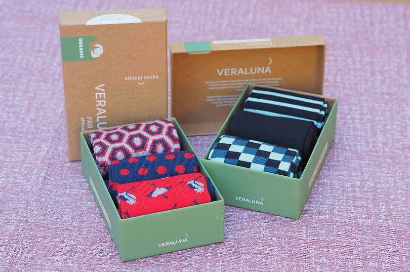 Caja calcetines Veraluna