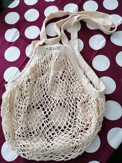 Bolsa compra algodón orgánico reutilizable
