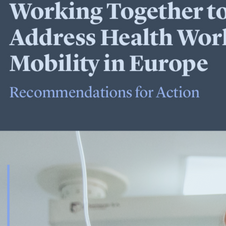 Working Together to Address Health Workforce Mobility in Europe