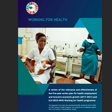 ILO-OECD-WHO Working for Health programme