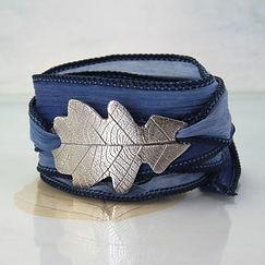 silver_oak_leaf_wrap_silk_ribbon_sycamoo