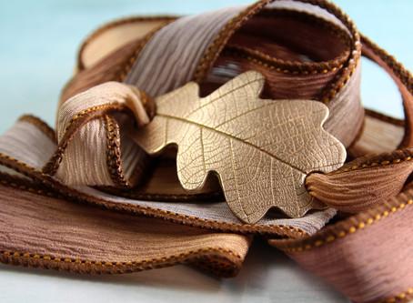 Ribbon Wrap Bracelets