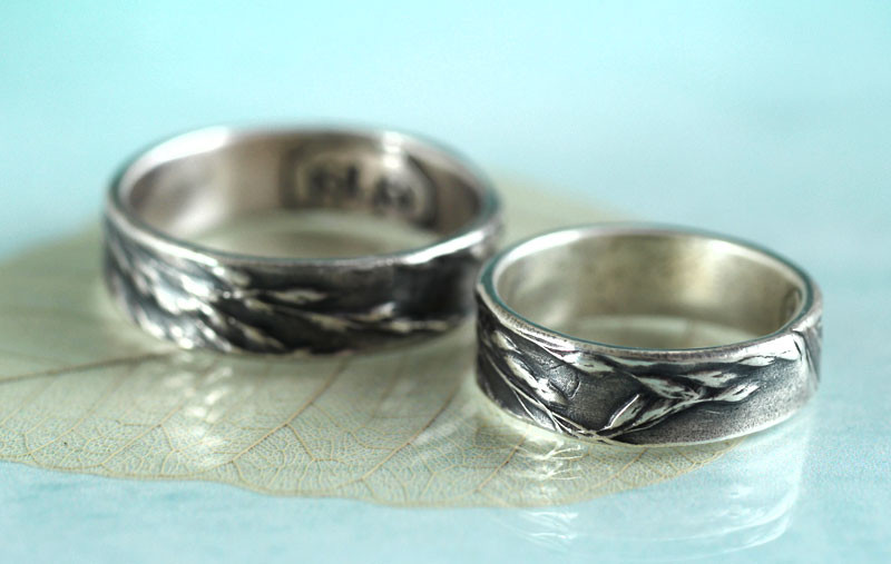 silver grass rings