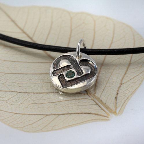 Celtic Heart Charm Necklace