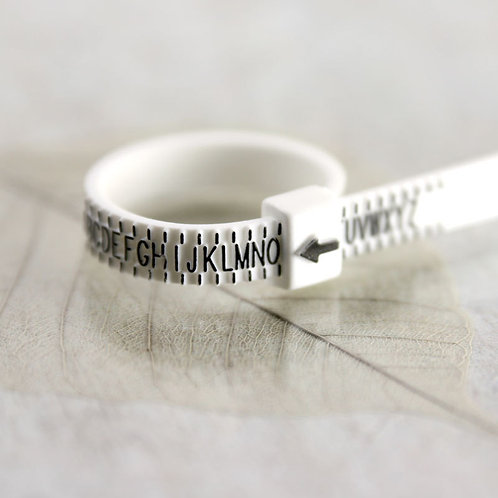 Ring sizer  Know your size  Measure UK Ring Size