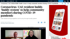 Gulf News featured In This Together UAE
