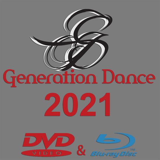 Generation Dance: Tour de Force 2021 Blu-ray/DVD Combo