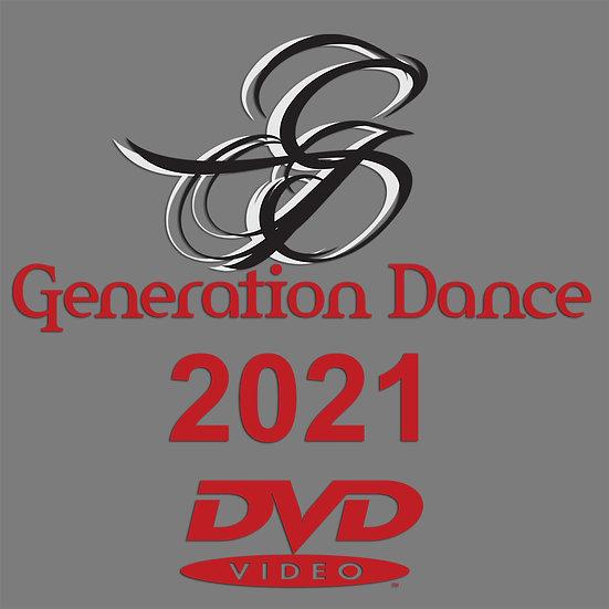 Generation Dance: Tour de Force 2021 DVD