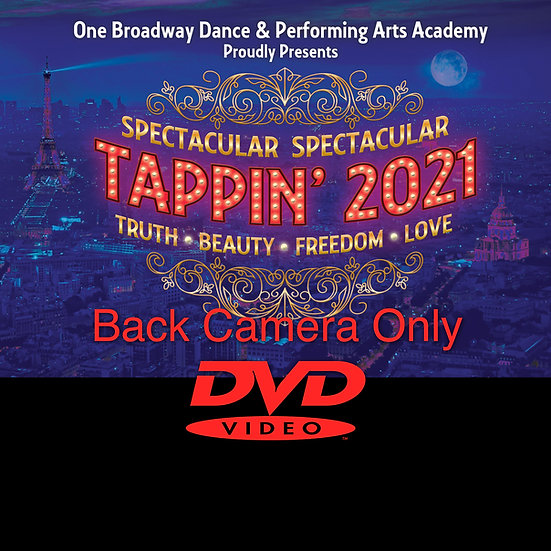 One Broadway: Tappin' 21 **BACK CAMERA DVD**